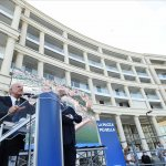 20 09 2021 Salerno. Inaugurazione Piazza della Libertà.