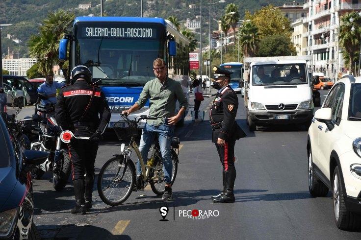 Bici, dall'elettrico ai monopattini: servizio di controllo dei Carabinieri - aSalerno.it