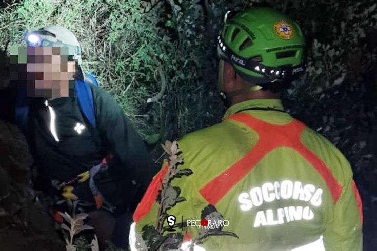 Ritrovato nella notte l'escursionista disperso nella Valle delle Ferriere - aSalerno.it