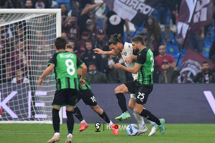 Salernitana tignosa, 0 a 0 con il Sassuolo (pt) - aSalerno.it