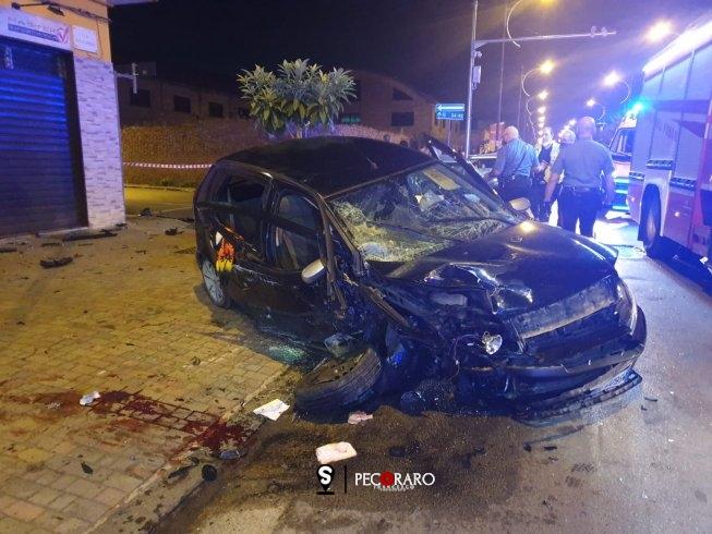 Impatto nella notte a Battipaglia, 8 feriti - aSalerno.it