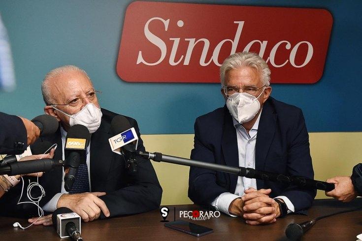 """Elezioni, Napoli assapora il bis: """"Ha vinto il progetto Salerno"""" - aSalerno.it"""